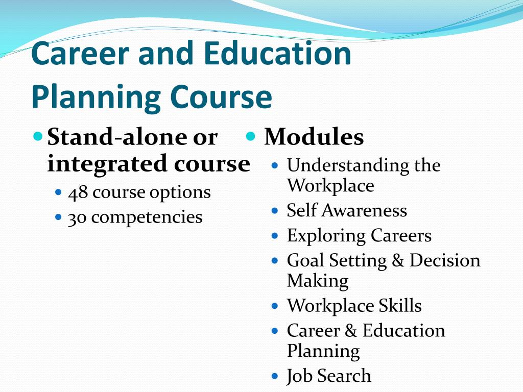 Career and Education