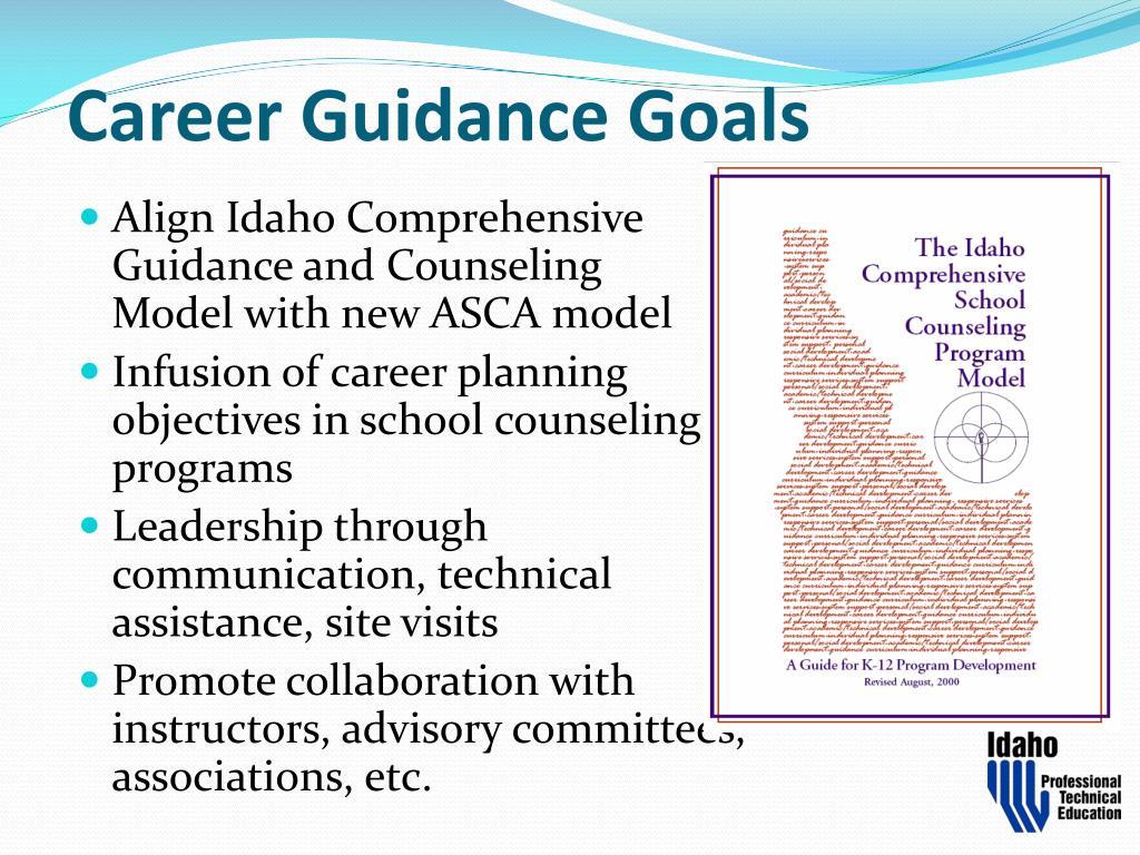 Career Guidance Goals