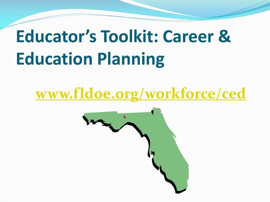 Educator's Toolkit: Career & Education Planning