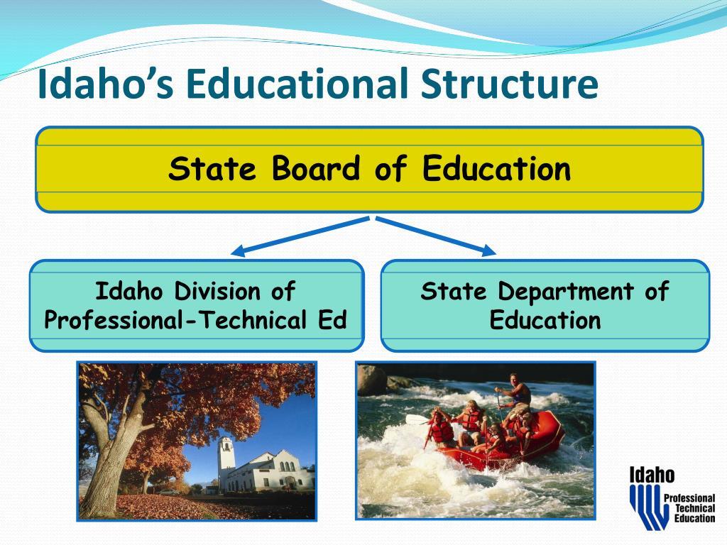 Idaho's Educational Structure