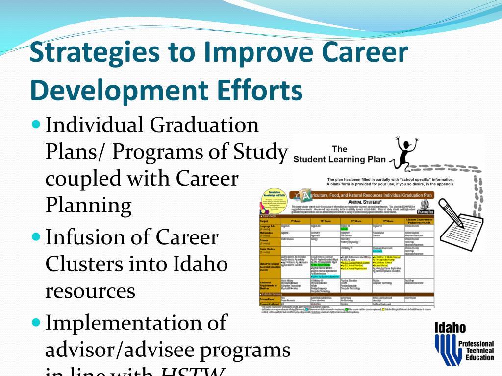 Strategies to Improve Career Development Efforts