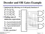 decoder and or gates example