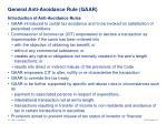 general anti avoidance rule gaar