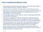india re negotiating the mauritius treaty