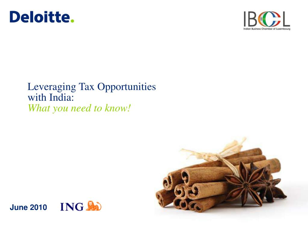 leveraging tax opportunities with india w hat you need to know
