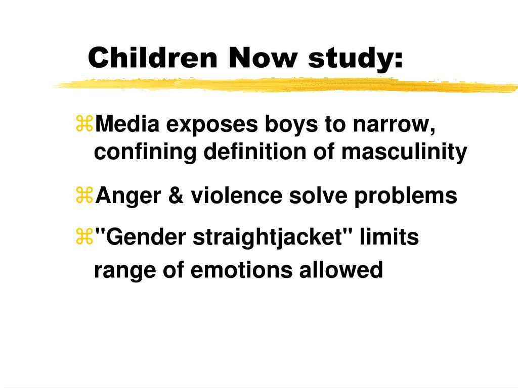 Children Now study: