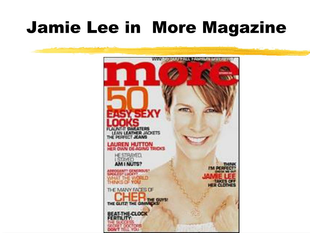 Jamie Lee in  More Magazine