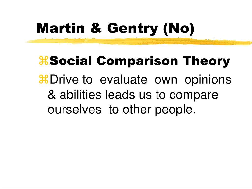 Martin & Gentry (No)