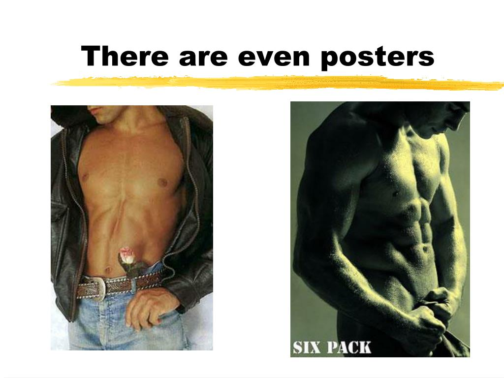 There are even posters