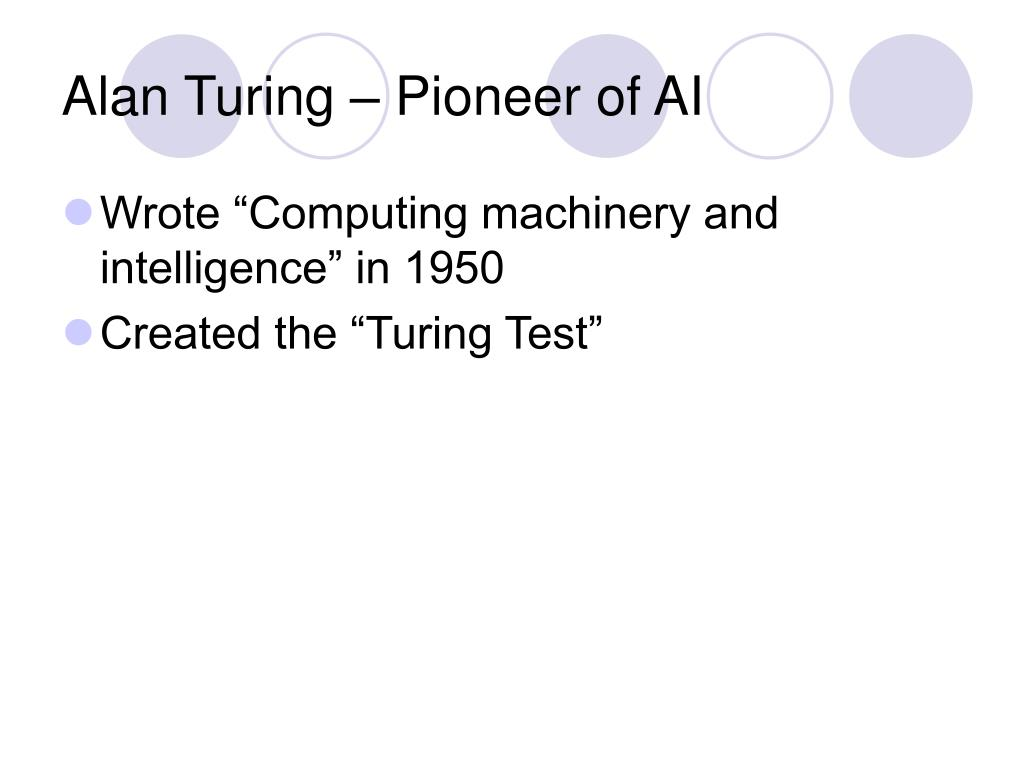 Alan Turing – Pioneer of AI