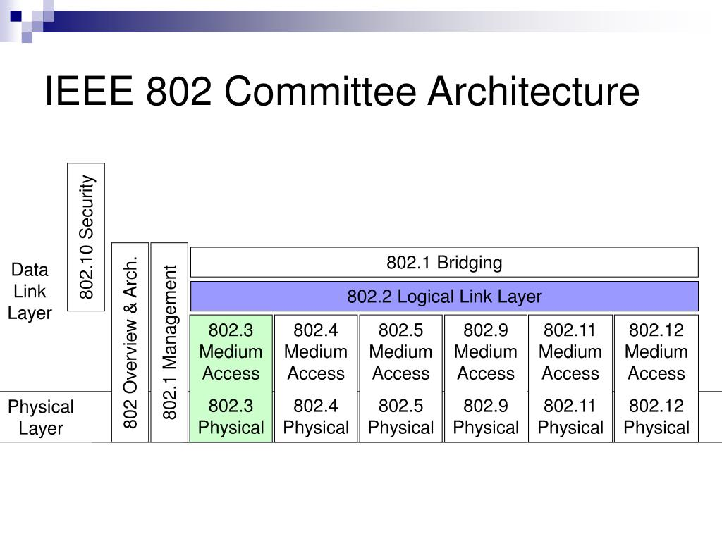 IEEE 802 Committee Architecture