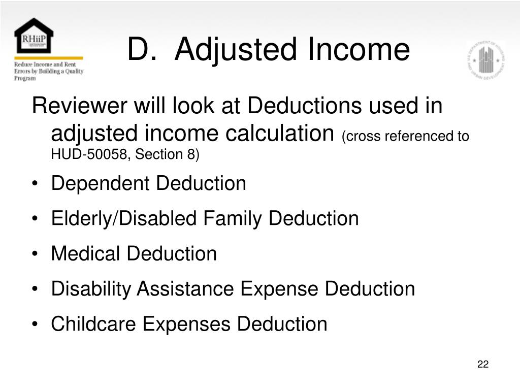 D.  Adjusted Income
