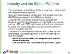 industry and the silicon platform