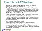 industry in the jeppix platform
