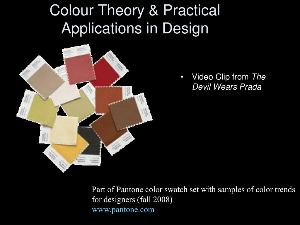 Colour Theory & Practical Applications in Design