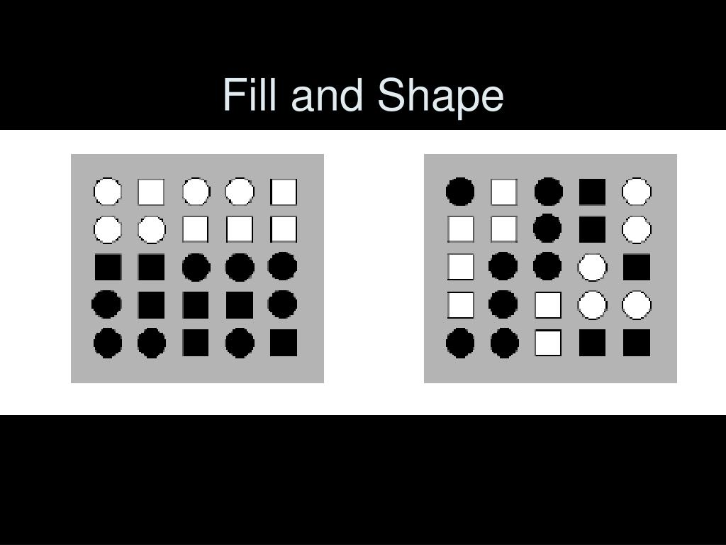 Fill and Shape