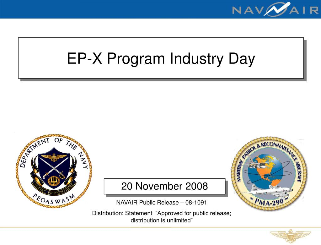 ep x program industry day l.