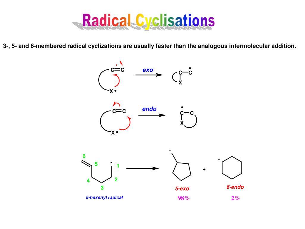 Radical Cyclisations