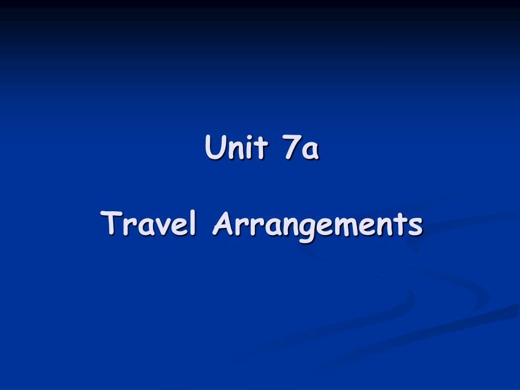 Unit 7a
