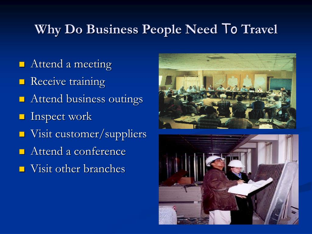 Why Do Business People Need