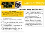 aggressive driving16