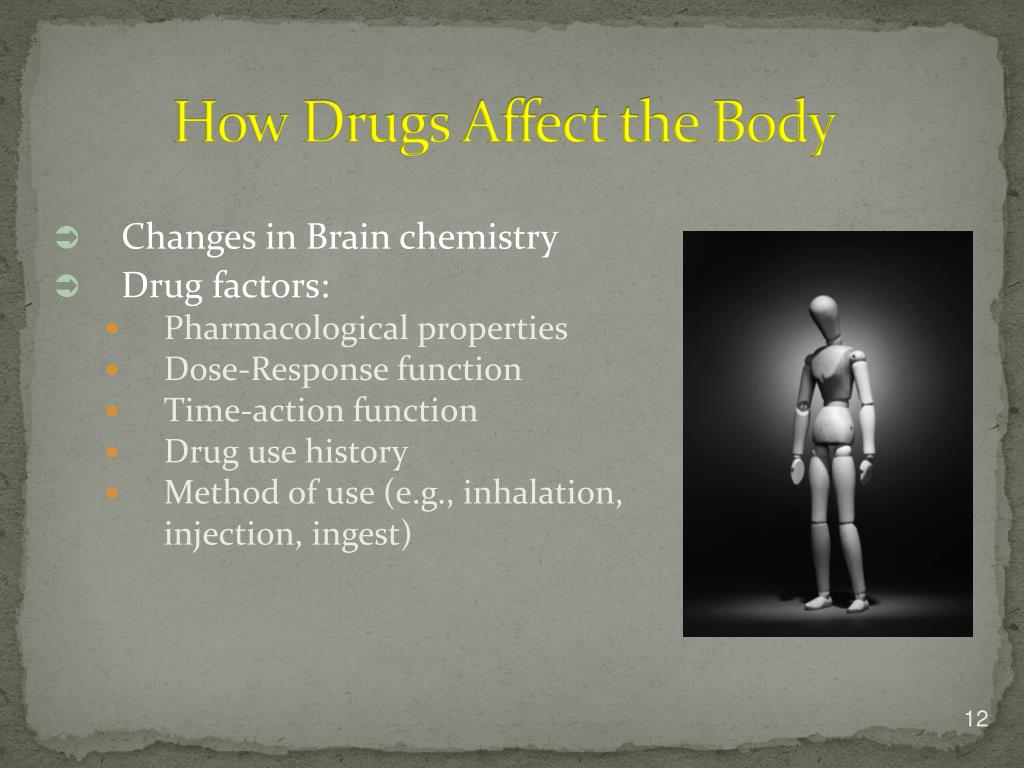 How Drugs Affect the Body
