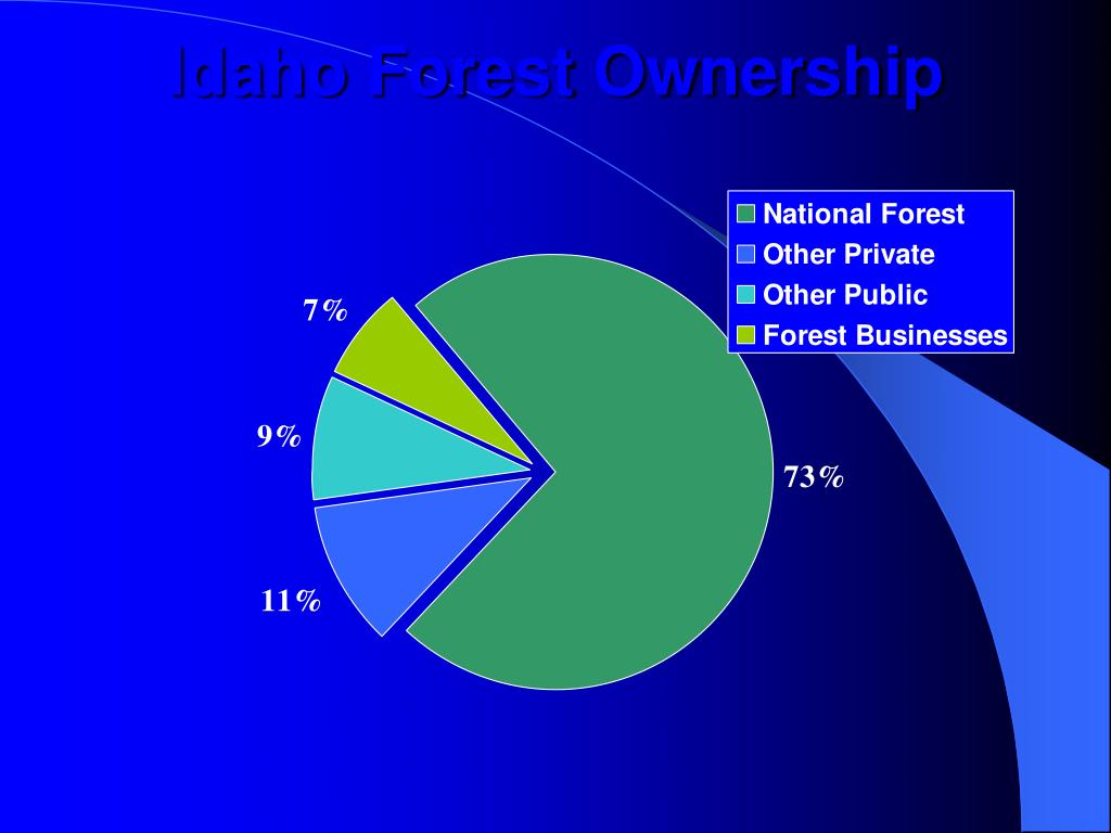 Idaho Forest Ownership