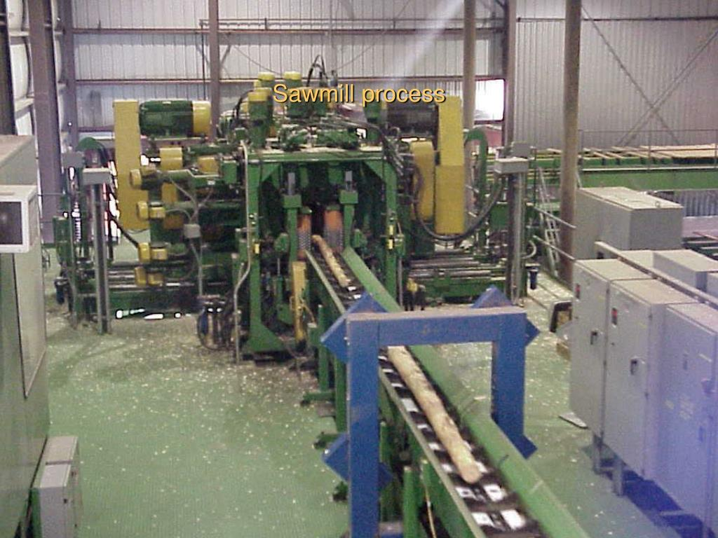 Sawmill process
