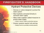 hydrant protective devices