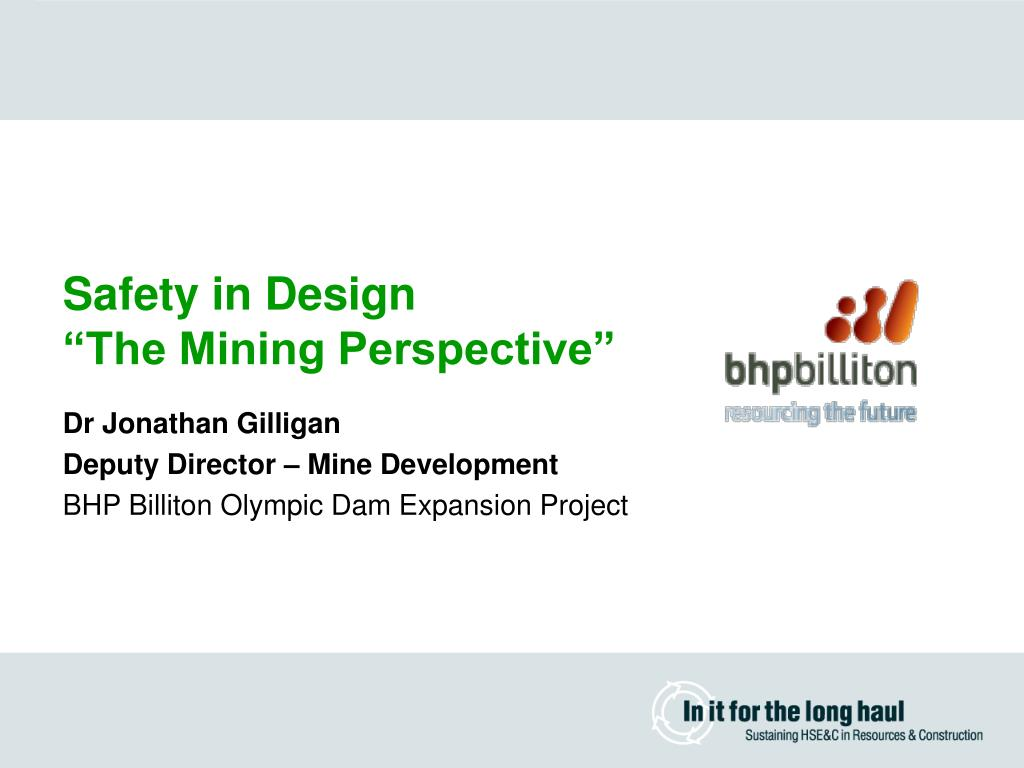 Safety in Design