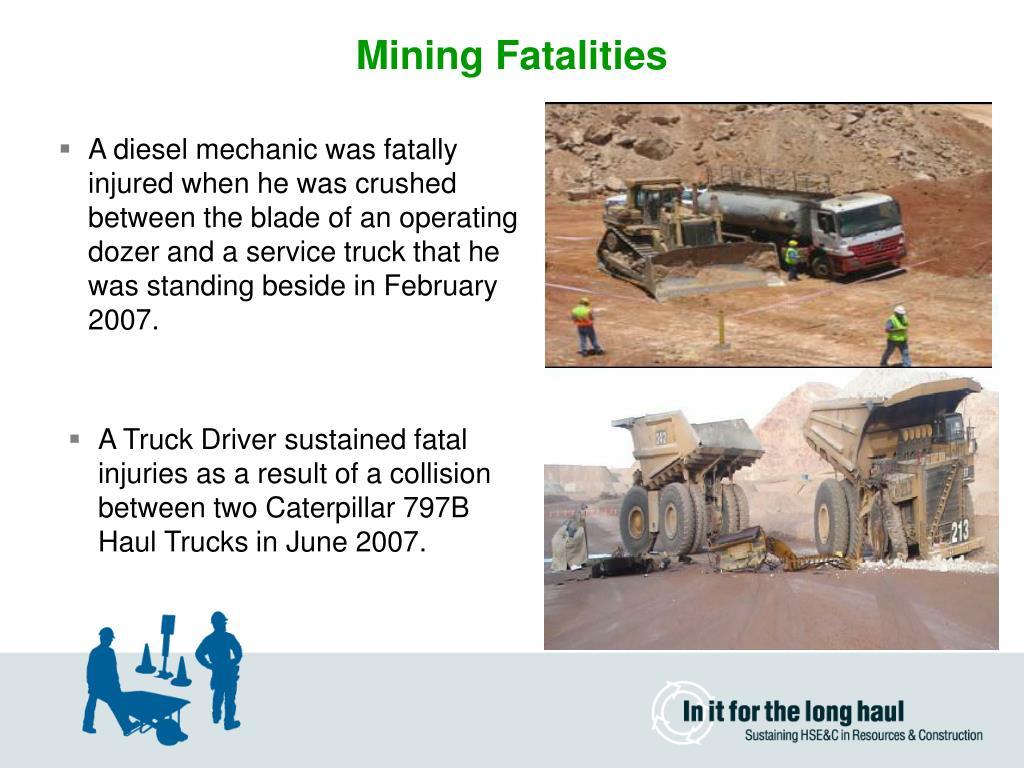 Mining Fatalities