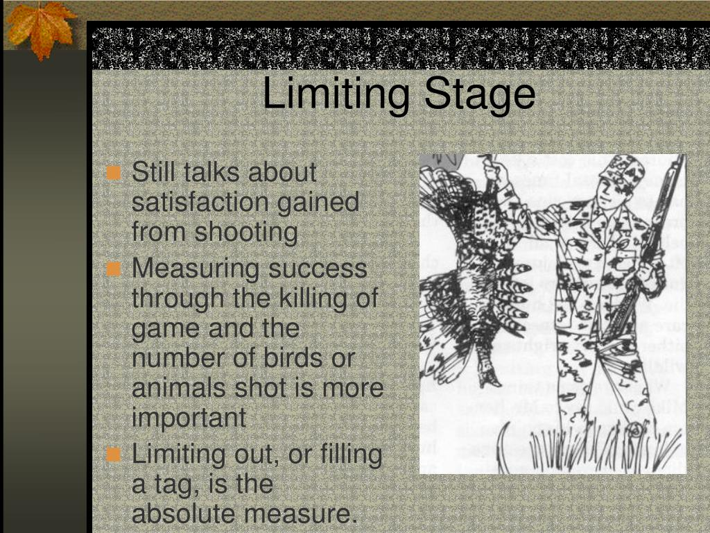 Limiting Stage