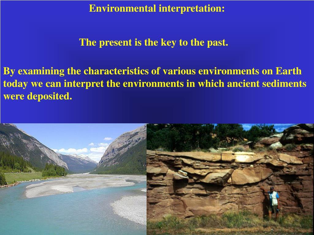 Environmental interpretation: