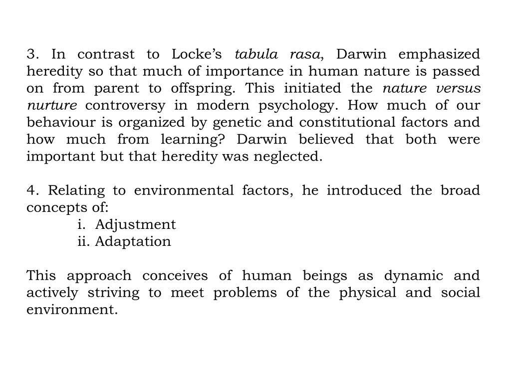 3. In contrast to Locke's