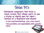 tablet pc s
