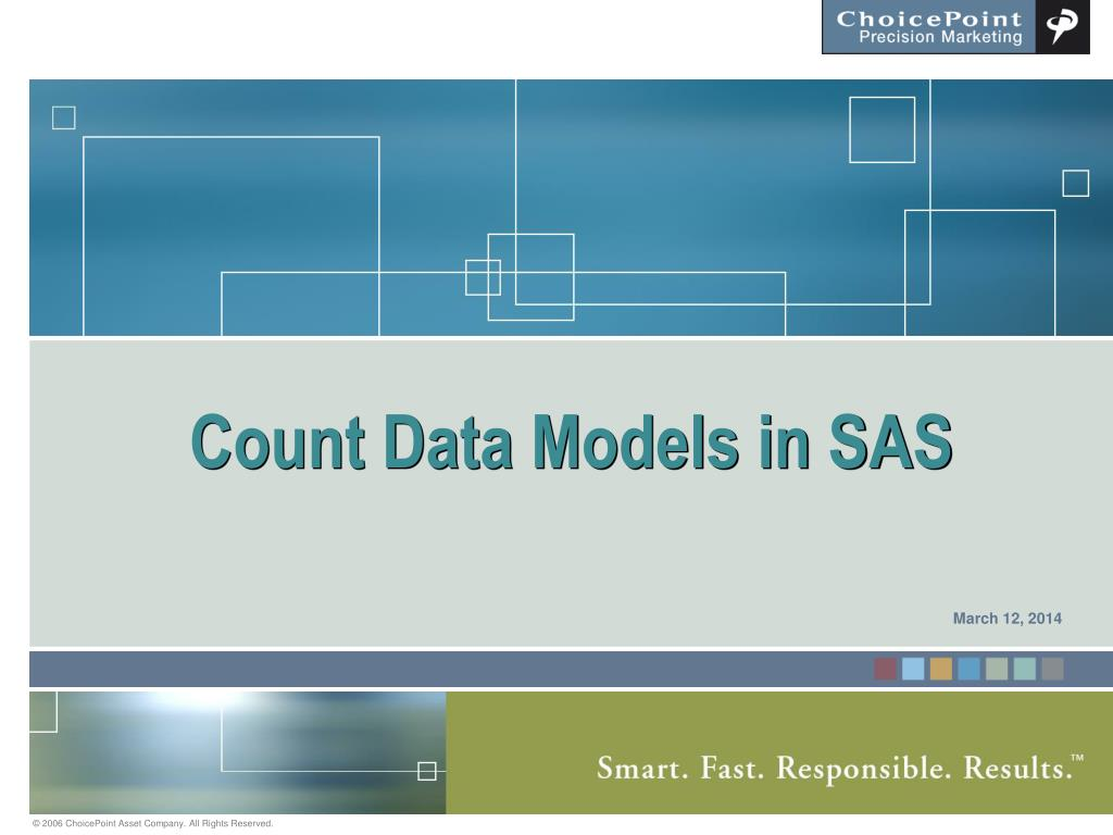 count data models in sas l.