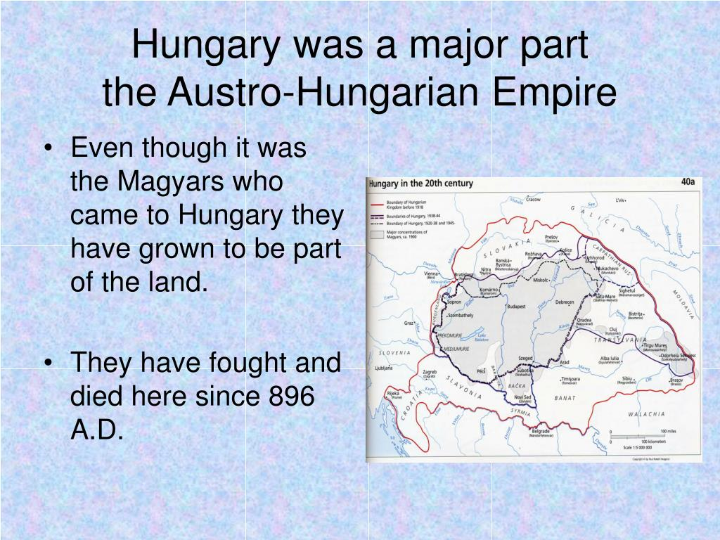 Hungary was a major part