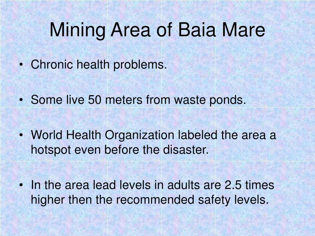 Mining Area of Baia Mare