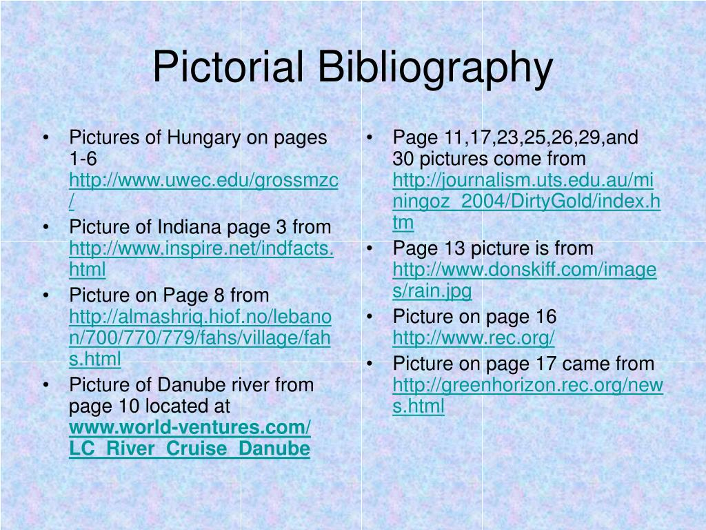 Pictures of Hungary on pages 1-6
