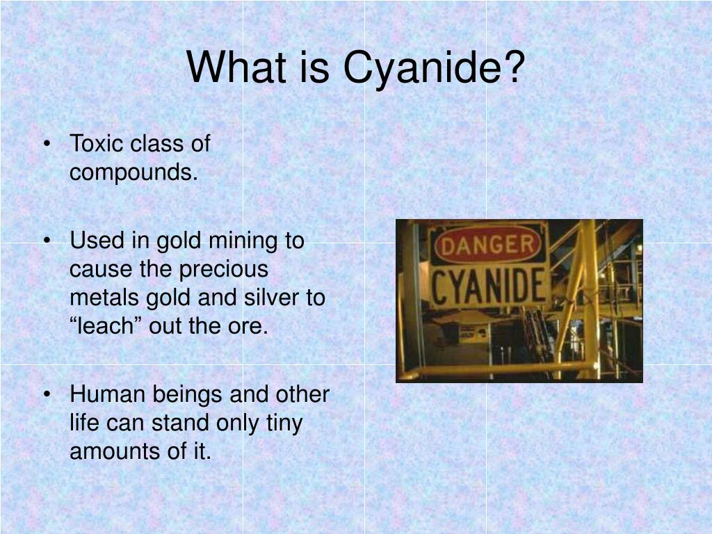 What is Cyanide?