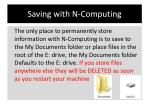 saving with n computing