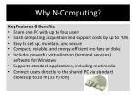 why n computing
