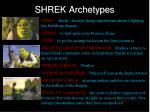 shrek archetypes
