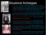 situational archetypes11