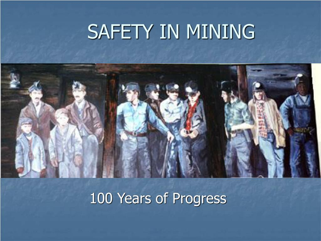 safety in mining l.