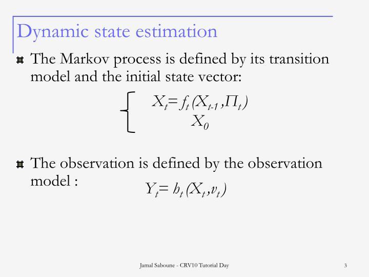 Dynamic state estimation3