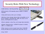 security risks with new technology3