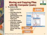 moving and copying files with my computer cont27