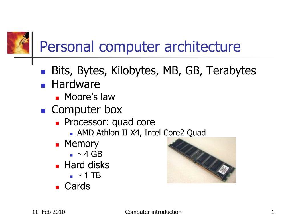 personal computer architecture l.