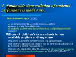 4 nationwide data collation of students performances made easy